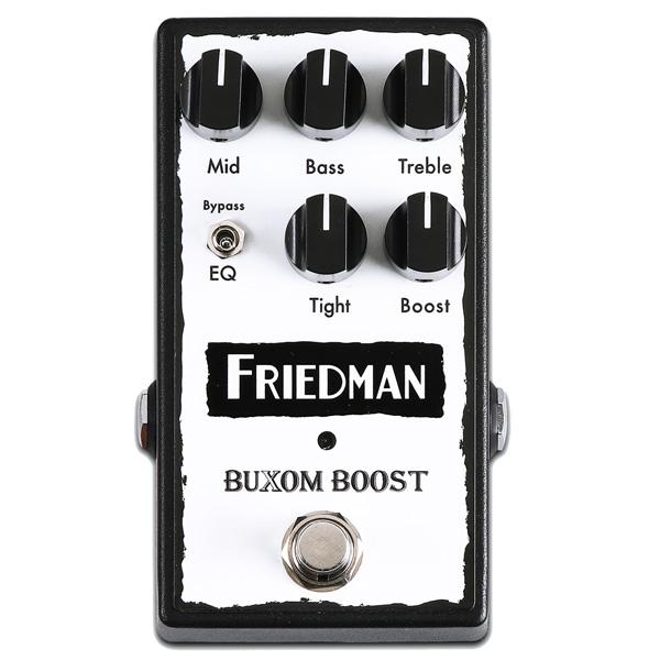 Friedman(フリードマン) / BUXOM BOOST - ギターエフェクター - ■限定セット内容■ 【 パッチケーブル(PLL-15) 】