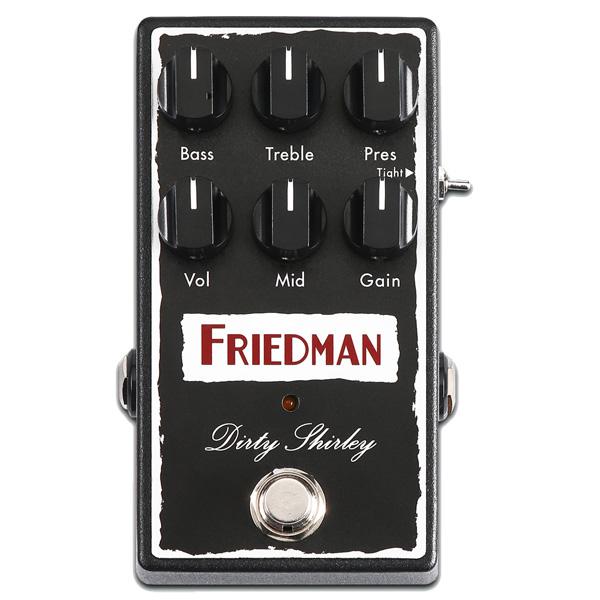 Friedman(フリードマン) / DIRTY SHIRLEY - オーバードライブ - 《ギターエフェクター》 1大特典セット