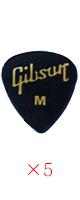 Gibson(ギブソン) / 1/2 Gross Standard Style / Medium APRGG-74M - ピック 5枚売り  -