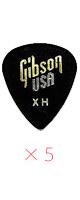 Gibson(ギブソン) / 1/2 Gross Standard Style / X-Heavy APRGG-74XH - ピック 5枚売り  -