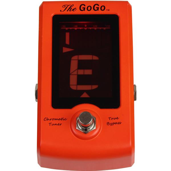 GoGo Tuners(ゴーゴー・チューナー) /  The Go Go GG-TG - ペダルチューナー