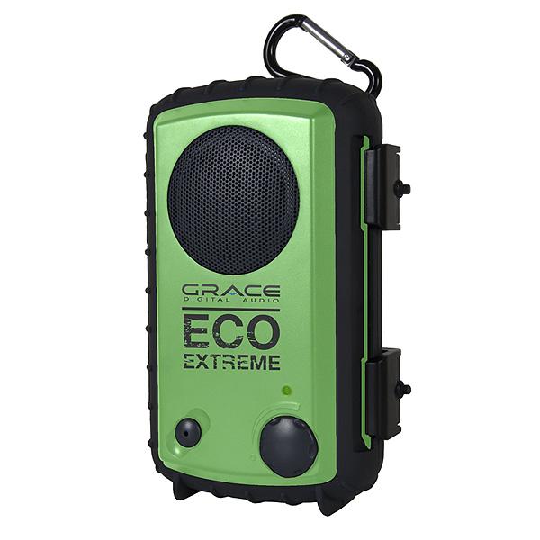 Grace Digital(グレースデジタル) / Eco Extreme (Green) - スピーカー搭載 iPhone・MP3ケース  -