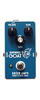 Greer Amps(グリアーアンプス) / Burning Goat バーニングゴート -オーバードライブ- 《ギターエフェクター》 ■限定セット内容■→ 【・パッチケーブル(KLL15)】
