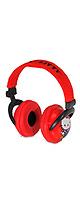 Hello Kitty(ハローキティー) / Hello Kitty Plush Headphones - Red/Black - ヘッドホン - ■限定セット内容■→ 【・コードマネージャー 】