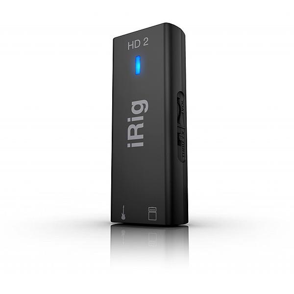 IK Multimedia(アイケーマルチメディア) / iRig HD 2 - ギター&ベース用インターフェース -