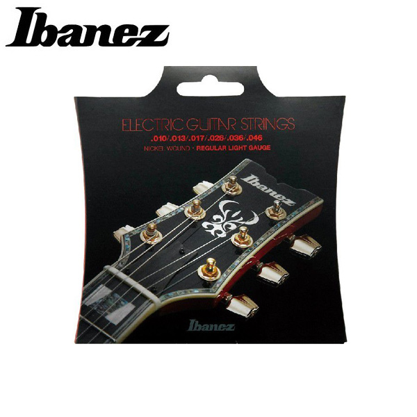 Ibanez(アイバニーズ) / Nickel Wound for Electric Guitars 6-Strings/Redular Light 【IEGS61】 【010-046】エレキギター弦