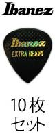 Ibanez (アイバニーズ) / PA16XR-BK 【EXTRA HEAVY】【10枚セット】-ピック  -