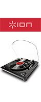 Ion(アイオン) /  Air LP - レコードプレイヤー-【PC,iOS対応】 ■限定セット内容■→ 【・レコードクリーナー 】
