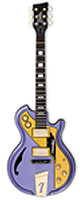 ITALIA GUITARS/Mondial Classic 15th Anniversary- Metallic Purple  -エレキギター-