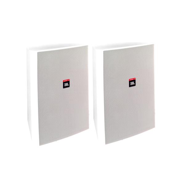 JBL(ジェービーエル) / Control 28-WH (ペア)  [正規輸入品] - 全天候型スピーカー(1ペア販売) 壁掛けタイプ -