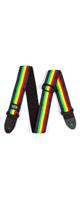 Jim Dunlop(ジム・ダンロップ) / BOB10 Stripes - ボブマーリーギターストラップ -