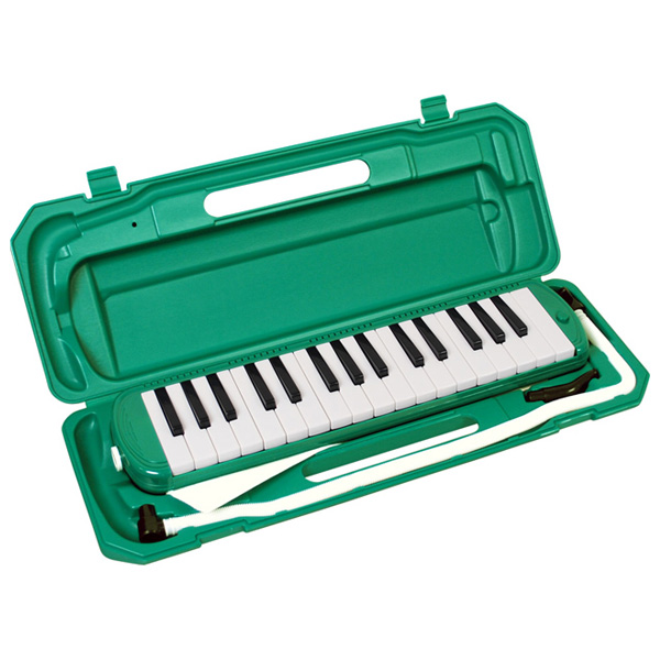 メロディーピアノ 鍵盤ハーモニカ- KC / P3001-32K/GR (グリーン)