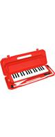 メロディーピアノ 鍵盤ハーモニカ- KC / P3001-32K/RD (レッド)