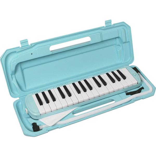 メロディーピアノ 鍵盤ハーモニカ- KC / P3001-32K/UBL (ライトブルー)