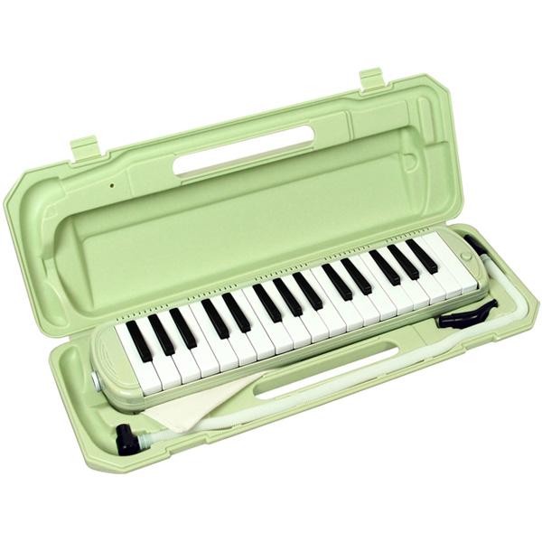 メロディーピアノ 鍵盤ハーモニカ- KC / P3001-32K/UGR (ライトグリーン)