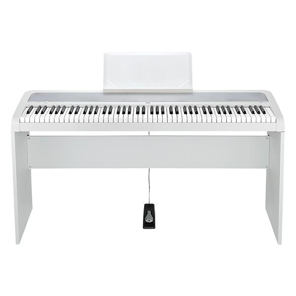 【限定1台】Korg(コルグ) / B1(ホワイト) DIGITAL PIANO 専用スタンド付き!- デジタルピアノ -【美品/アウトレット品/メーカー保証付】