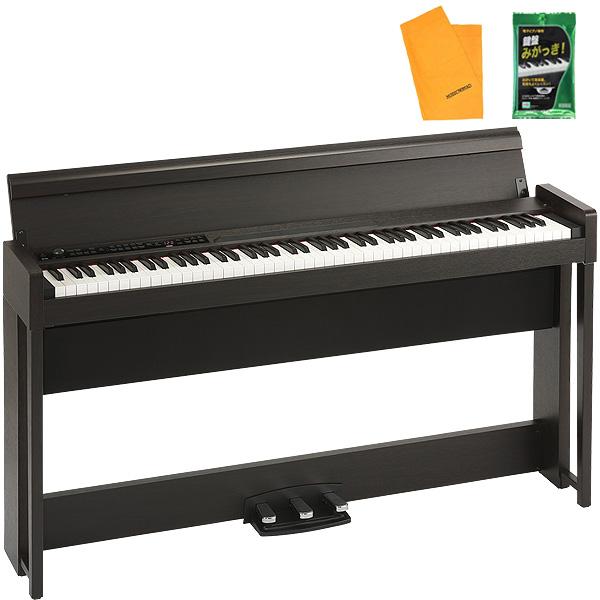 Korg(コルグ) / G1 Air BR (ブラウン / 木目調仕上げ) - 88鍵盤 デジタルピアノ / 電子ピアノ - 【専用スタンド、3本ペダル、ヘッドホン付属】