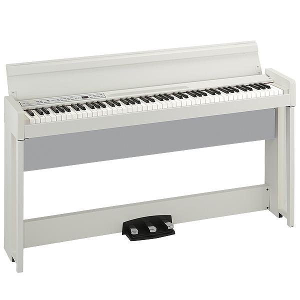 Korg(コルグ) / C1 AIR WH (ホワイト) - 88鍵盤 デジタルピアノ / 電子ピアノ - 【専用スタンド、3本ペダル、ヘッドホン付属】