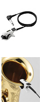 Korg(コルグ) / CM-200-WHBK CONTACT MICROPHONE - チューナー用ピエゾ・クリップタイプ マイクロフォン -