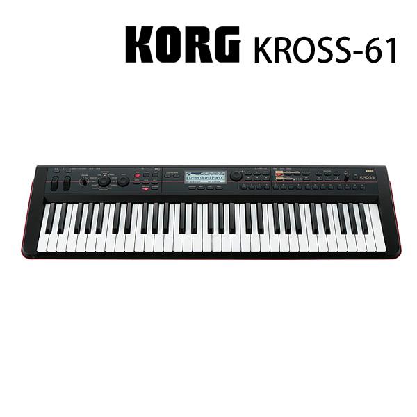 Korg(コルグ) / KROSS-61 (61鍵盤) - ミュージック・ワークステーション・シンセサイザー -