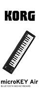 Korg(コルグ) / microKEY2-37Air - 37鍵Bluetooth対応MIDIキーボード - 1大特典セット