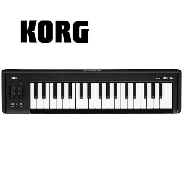 Korg(コルグ) / microKEY2-37Air - 37鍵Bluetooth対応MIDIキーボード -