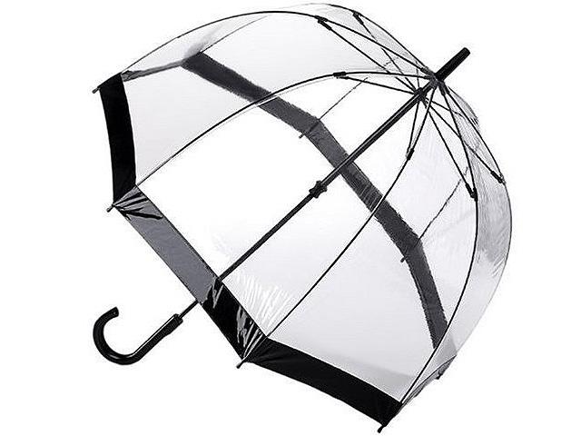 Fulton Umbrella Black Birdcage-1- 鳥かご傘 - ★イギリスで大人気★