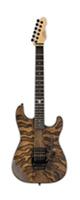 LTD /  George Lynch Model GL BURNT TIGER - エレキギター - ■限定セット内容■→ 【・ア-ニ-ボ-ル エレキ弦 】