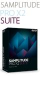 MAGIX(マジックス) / SAMPLITUDE PRO X2 SUITE - WindowsネイティブDAW/マスタリングソフトウェア - ■限定セット内容■→ 【・ヘッドホン(OV-X8)】