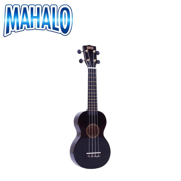 "MAHALO(マハロ) / MR1 BK (ブラック)  - Rainbow""R""Series ウクレレ -"