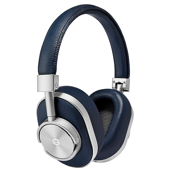 MASTER & DYNAMIC(マスターアンドダイナミック) / MW60 (SILVER/NAVY)- Bluetooth対応 ワイヤレスヘッドホン - 1大特典セット