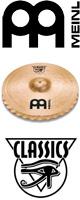 MEINL(マイネル) / Classics Soundwave Medium Hihats 13インチ 【C13MSW】 - ハイハットペア - ■限定セット内容■→ 【・クリーニングクロス 】