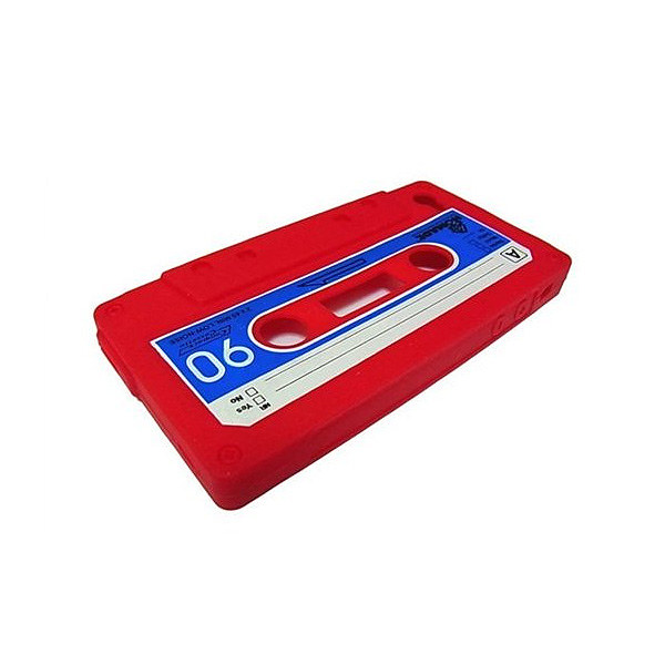 MEMORYCAPITAL / IPHONE 4 4G RETRO CASSETTE SILICONE CASE - RED