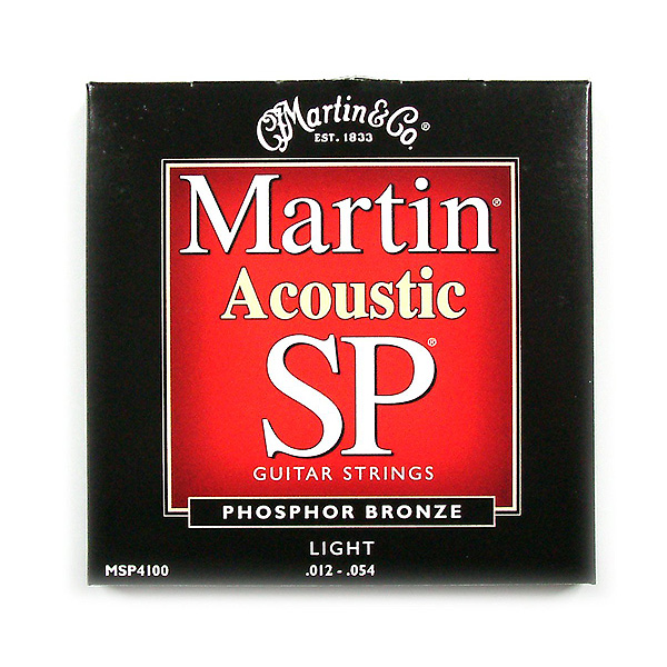 Martin(マーティン) / SP / Phosphor Bronze / LGT MSP-4100 - アコギ弦 -