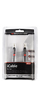 Monster Cable(モンスターケーブル) / iCable 800 MP3 Player to Auxiliary Input Cord (3.5mmステレオミニプラグ - 3.5mmステレオミニプラグ / 0.91m) - ケーブル -