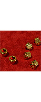 Montreux(モントルー) / The Clone Tuner Bushing set for 60 LP(6) Gold - ギター・ベースパーツ類 -
