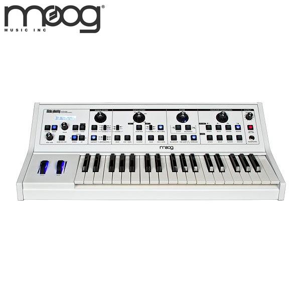 Moog(モーグ) / Little Phatty Stage II WHITE 【アナログ・シンセサイザー】 ■限定セット内容■→ 【・世界No1 Belden8412ケーブル 】