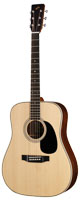 店頭展示特価 Morris(モーリス) W-185H アコースティックギター 生産完了品 ハカランダ材使用
