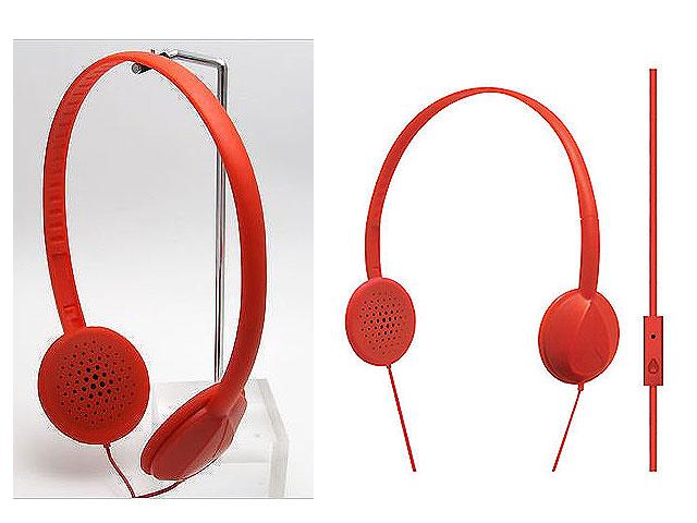 NIXON(ニクソン) / WHIP MIC [RED] ≪i-Phone対応・マイク付≫【2年保証付】 ■限定セット内容■→ 【・コードマネージャー 】