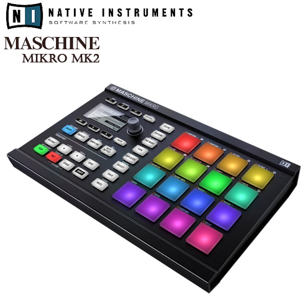 MASCHINE MIKRO MK2 (Black) / Native Instruments(ネイティブインストゥルメンツ)