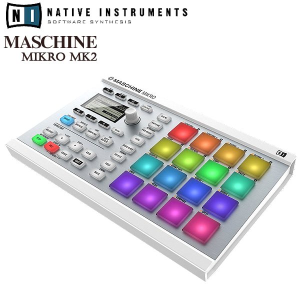 MASCHINE MIKRO MK2 (White) / Native Instruments(ネイティブインストゥルメンツ)