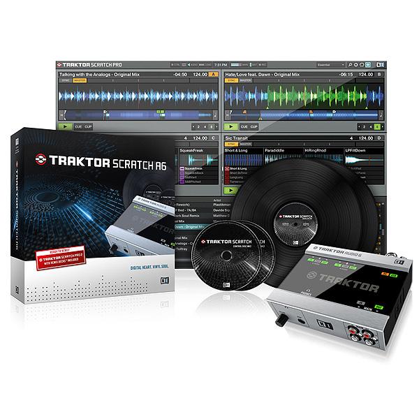 TRAKTOR SCRATCH A6 / Native Instruments(ネイティブインストゥルメンツ)