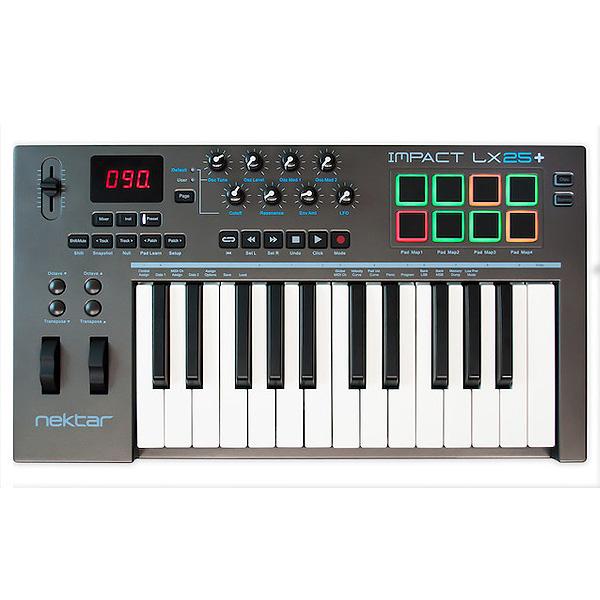 Nektar Technology(ネクター テクノロジー) /  Impact LX25+ - MIDIキーボード・コントローラー -