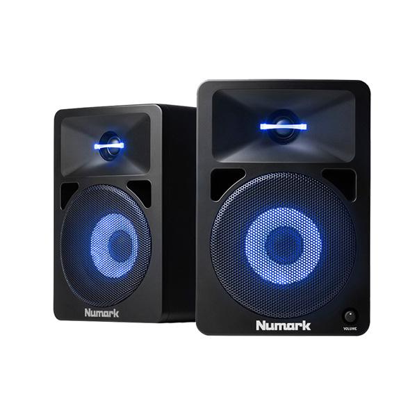 Numark(ヌマーク) /  N-WAVE 580L - LED内蔵光る 2Way パワードモニター - 【パリピグッズ】 ■限定セット内容■ 【・最上級エージング・ツール 】