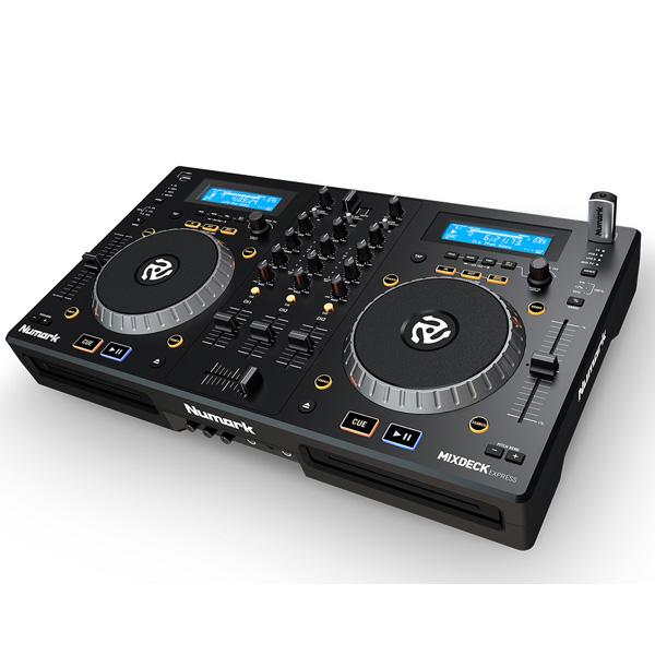 【10倍ポイント】Numark(ヌマーク) /  Mixdeck Express (Serato DJ Intro付属) 【CD/USBメモリー/PCDJ対応】コンプリートDJシステム