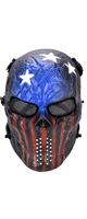 OUTGEEK / Airsoft Mask(Patriot) - ソフト素材マスク - ハロウィングッズ