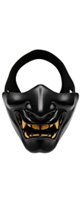 OUTRY / ハーフマスク (般若/鬼/ブラック) - ハロウィングッズ -
