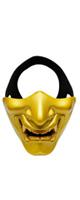 OUTRY / ハーフマスク (般若/鬼/ゴールド) - ハロウィングッズ -