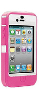 OtterBox(オッターボックス) / Defender Case for iPhone 4 (Hot Pink Silicone & White Plastic) - iPhone4対応ケース  - 【在庫処分価格】
