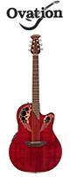 Ovation(オベーション) / Celebrity Elite CE44    -RR Ruby Red ルビーレッド - アコーステックギター エレアコ -